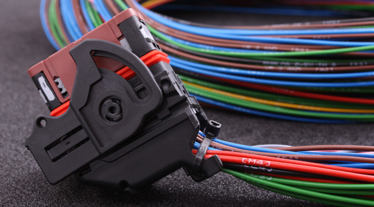MaxxECU PRO harness for connector 3 which extends MaxxECU PRO with E-Throttle, WBO 2, digital inputs and more