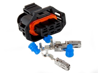 Connector 3-way socket housing (LSs/LS7 MAP-sensor)