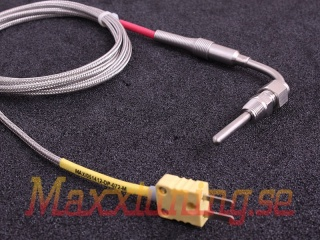 Exhaust gas temperature sensor 1.8m 4.7mm covered tip