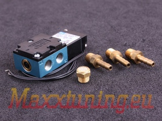 Solenoid for electronic control of boost pressure 12v double pole